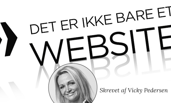 Det er ikke bare et website….